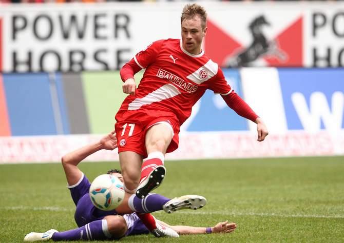 Maximilian Beister im Trikot von Fortuna Düsseldorf