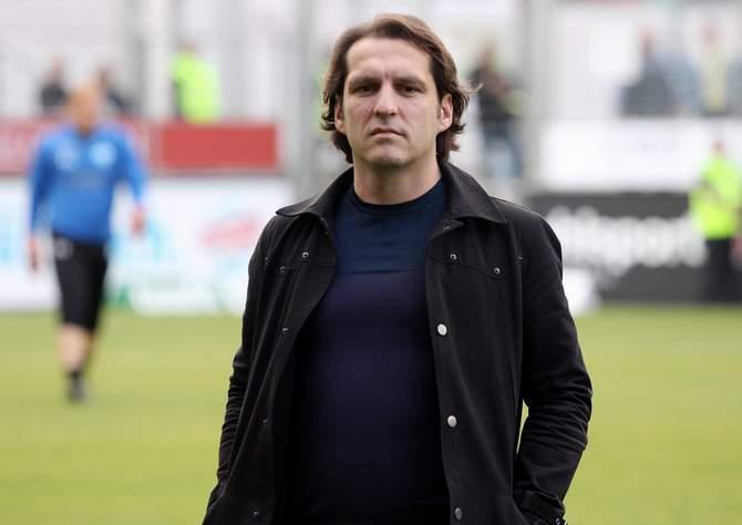 Michael Zeyer von den Stuttgarter Kickers