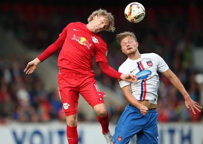 Setzt sich Forsberg wieder gegen Titsch-Rivero durch? Jetzt auf Red Bull gegen Heidenheim wetten